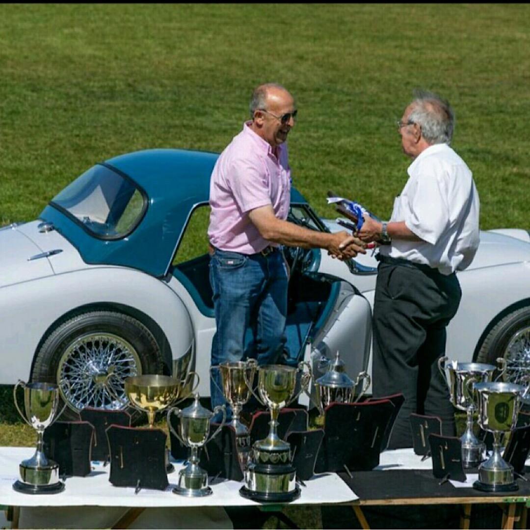 The TR International Lincoln 2018 - Graham Andews' Award.