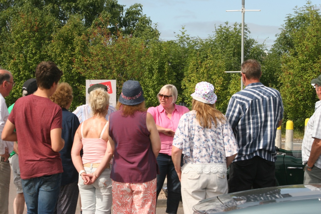 Report of our 'Drive with Clues' on 22nd July