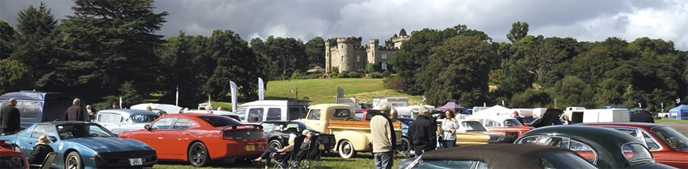 Festival of 1000 Classic Cars - Joint Shropshire & Stoke Group Stand