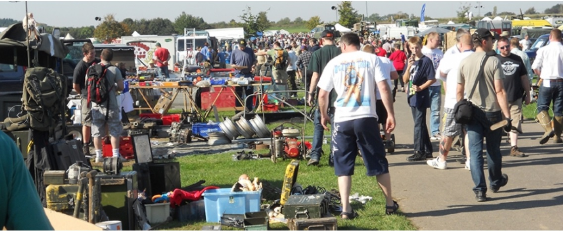 Kennet Valley TR Group to visit Newbury 4X4 & Vintage/Classic Spares Day