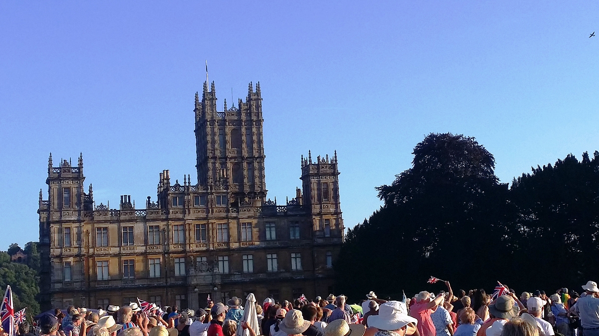 Kennet Valley TR Group enjoy the 100th Battle Prom at Highclere Castle (aka Downton Abbey)