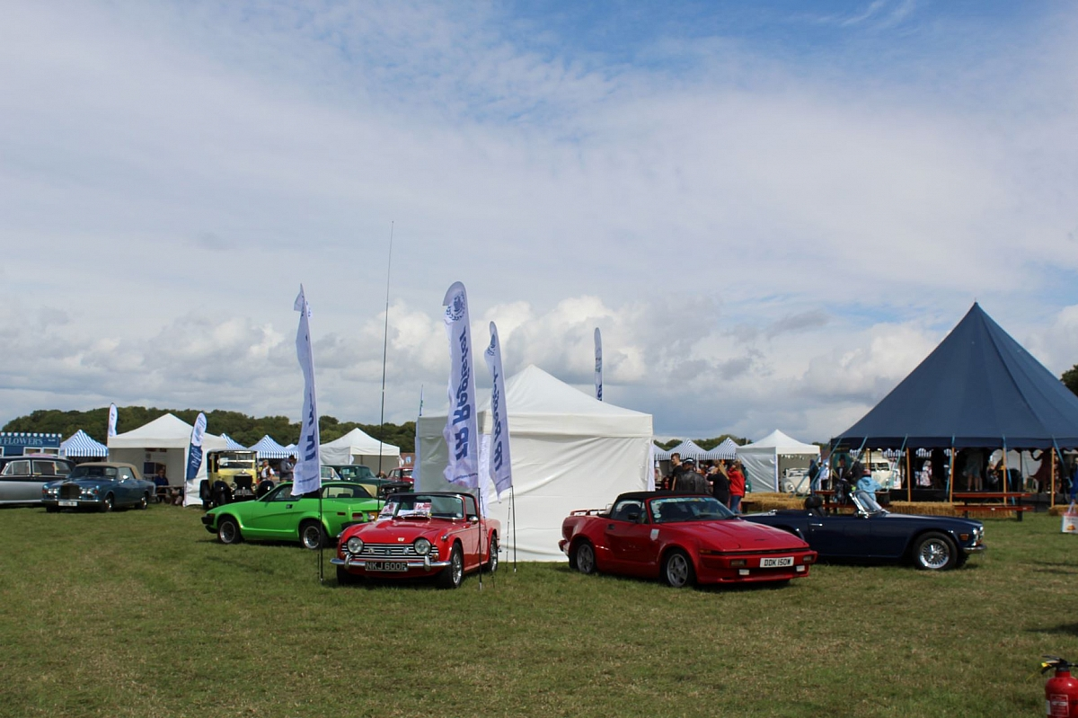 The TR Register puts on a great display over the 3 days of C4RFest South despite the weather.