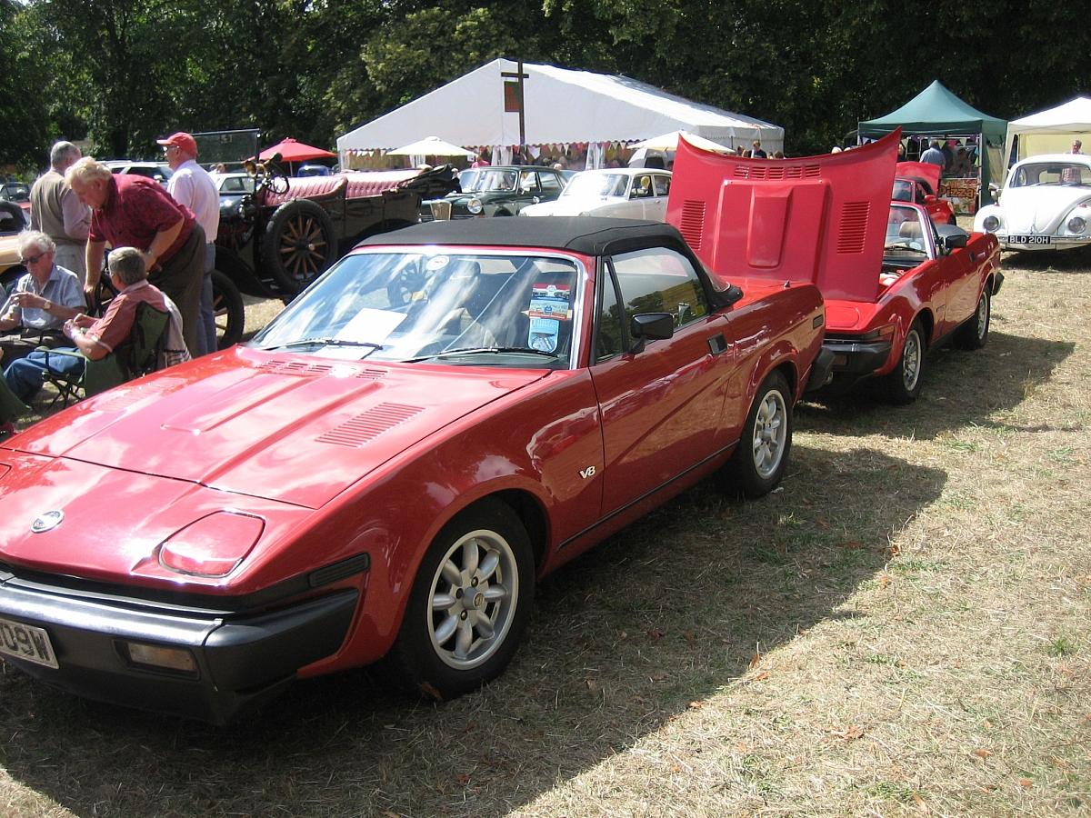 Kennet Valley TR Group enjoy StockFest  & Stockcross Classic car show