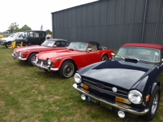 Kennet Valley TR Group attend WLAC Air & Classic