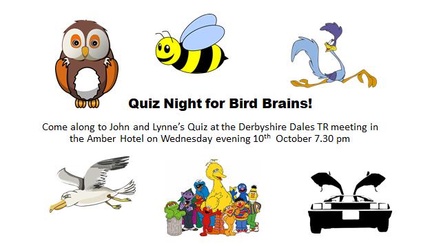 Derbyshire Dales Club Night - Wednesday, 10th October