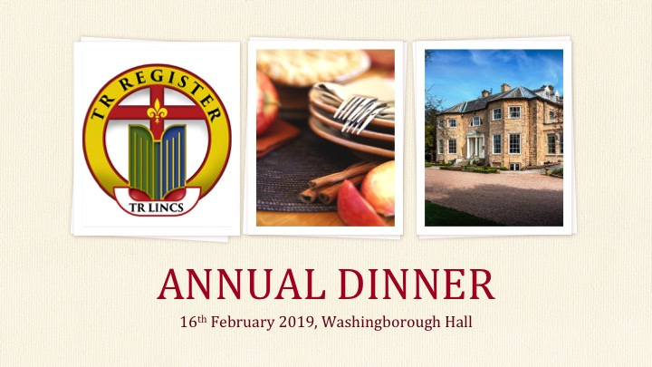 TR Lincolnshire Annual Dinner