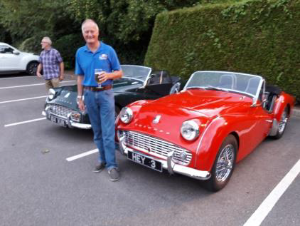 "​""Hey 3"" John Hepworth's TR3A takes to the road after 40 years"