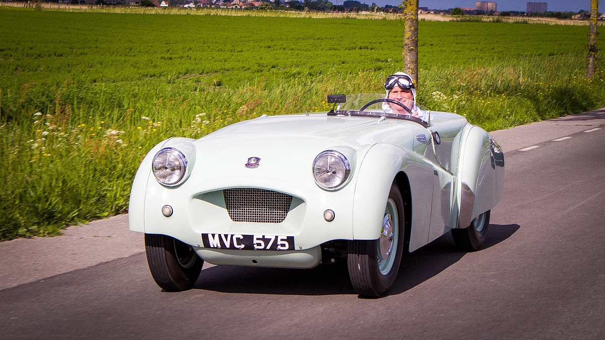 Jabbeke TR2 wins International Historic Motoring Award