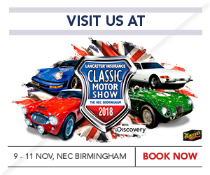 See TR Register at the NEC Classic Motor Show