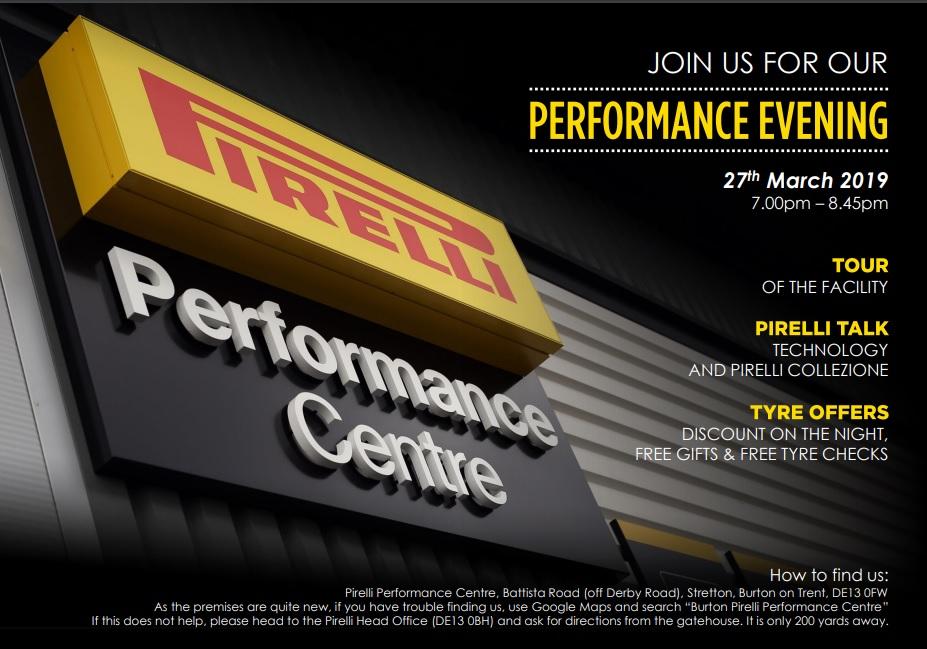 Derbyshire Dales - Pirelli Performance Evening