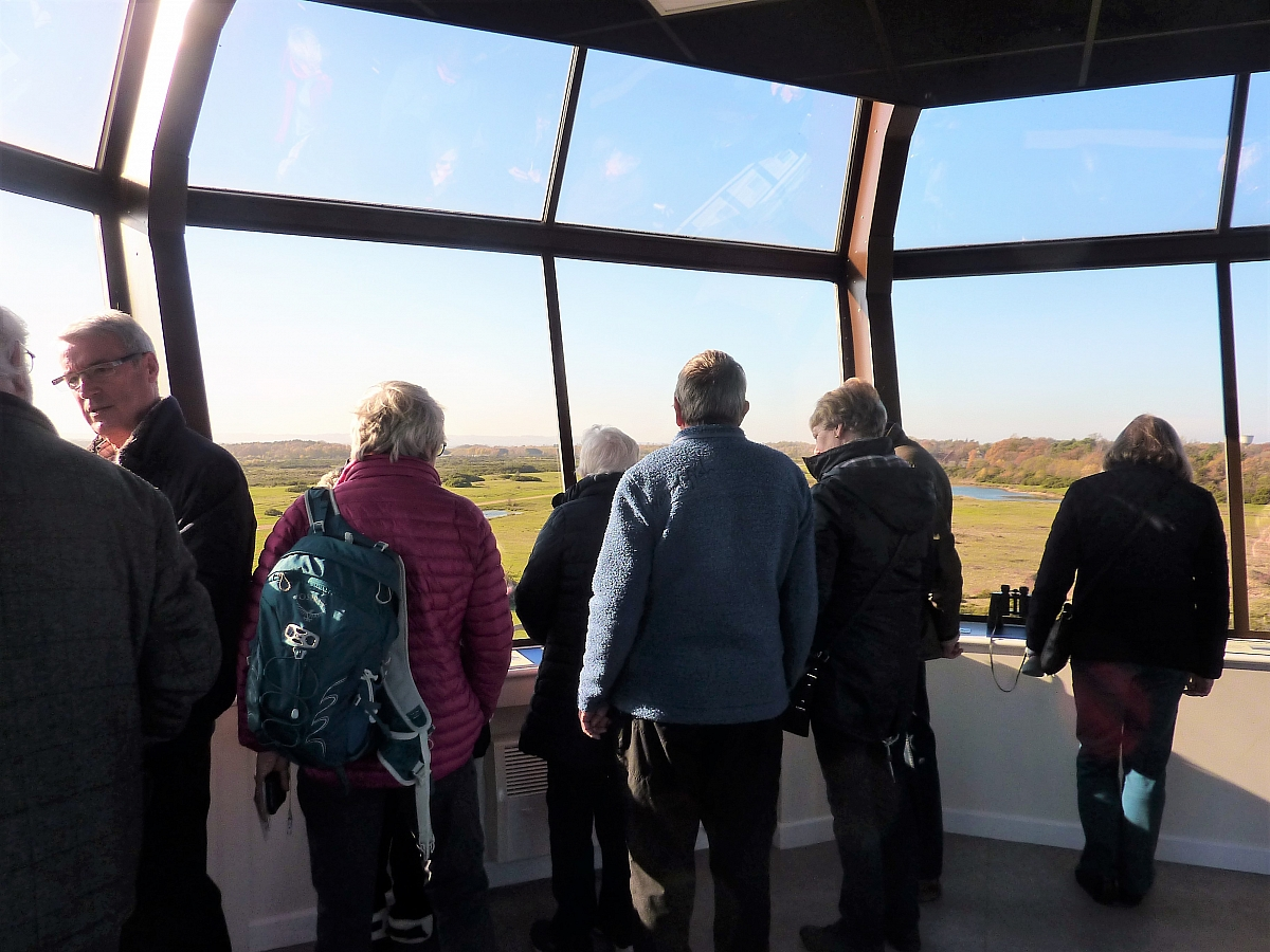 Kennet Valley TR Group visit the infamous former Greenham Common Airbase Control Tower