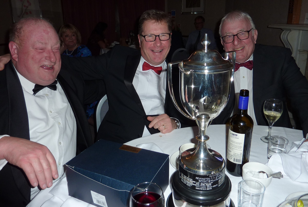 The Revington TR / TR Register Sprint and Hillclimb Championship 2018 Awards Dinner