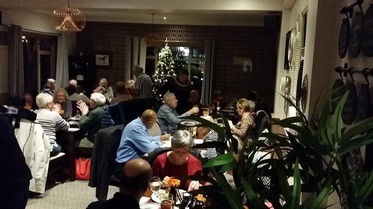 42 people enjoy the last 2018 Kennet Valley TR Group Club Night