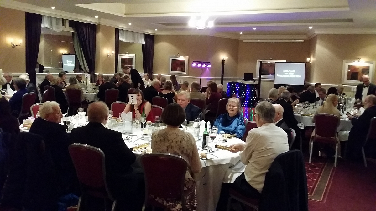 Kennet Valley TR Group REV IT UP at their Xmas & New Year Bash