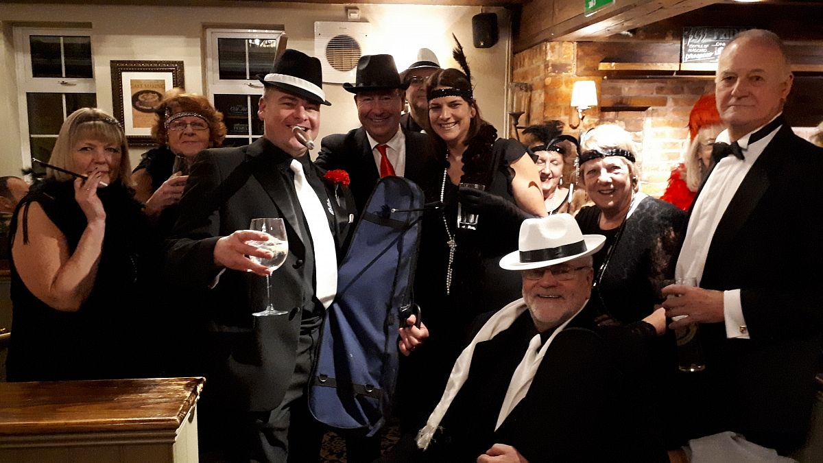 Gangsters & Molls Plan New Year Party Takeover!