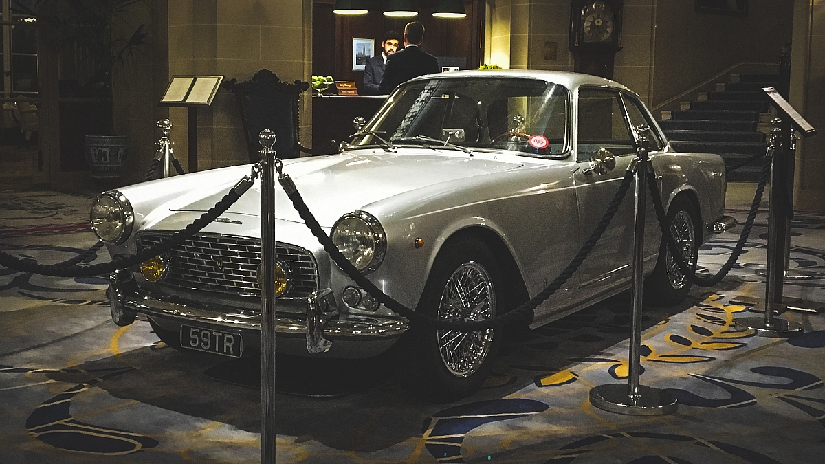 Triumph Italia graces the RAC club rotunda