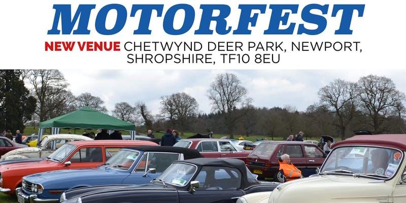 Shropshire & Stoke Groups at Easter Sunday Motorfest.