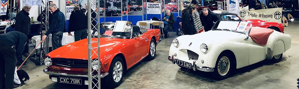 MG and Triumph Spares Day 2019: Show Report.