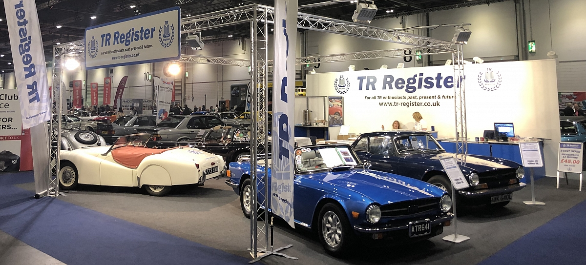 ​TR Register wins 'Best Club Display' at London Classic Car Show
