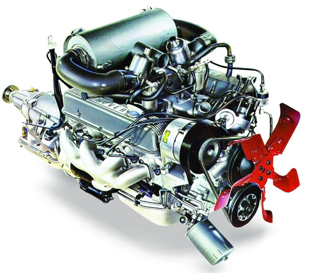 Kennet Valley TR Group enjoy Brian Terry's presentation on development of the Rover V8 Engine
