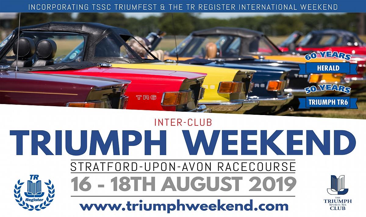 The Inter-club Triumph Weekend 2019