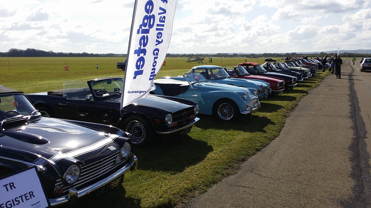 TR Register Event - Bicester Sunday Scramble for Drive it Day with discounted entry!