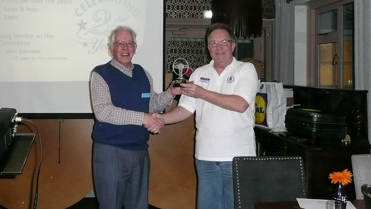 Kennet Valley TR Group - March Club Night & AGM