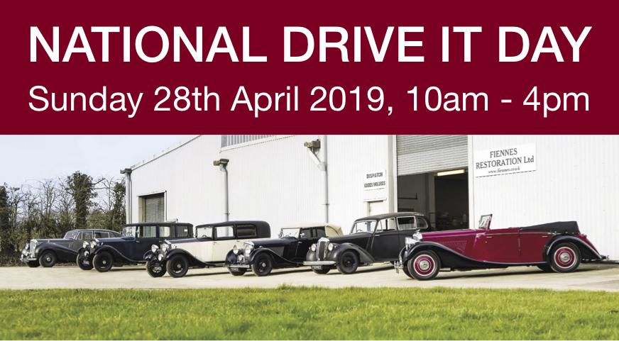 Ridgeway Group Drive it Day run to Fiennes Restoration Workshop