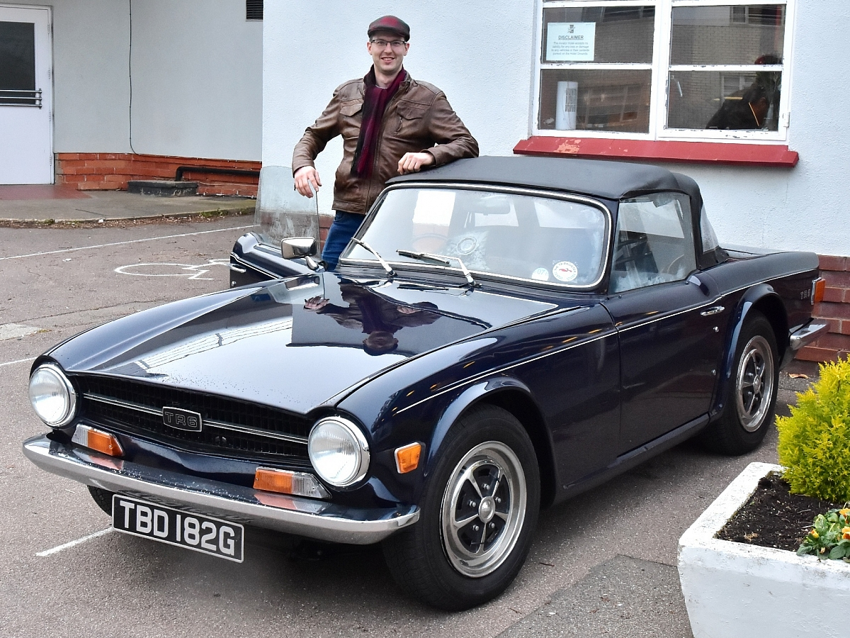 Happy 50th Birthday TR6!