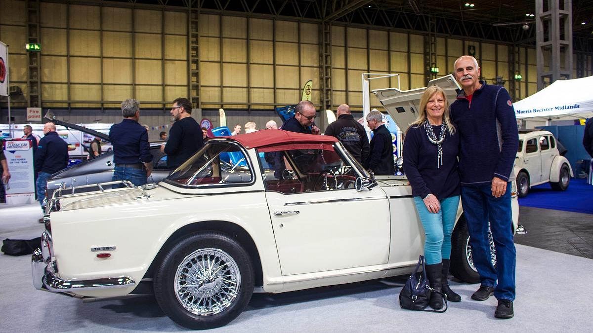 Tr Register Showcases Tr6 Story At Practical Classics Classic Car