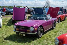 TR Register Scotland at the Stirling and District Classic Car Club Show