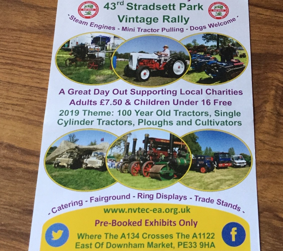 Wensum Group Event - Stradsett Vintage Rally - Drive In TR's On Show.