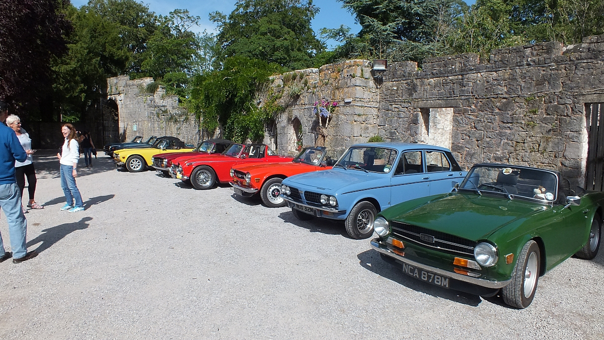 Stoke Group Drive It Day Run to Llangollen, Horseshoe Pass and North Wales