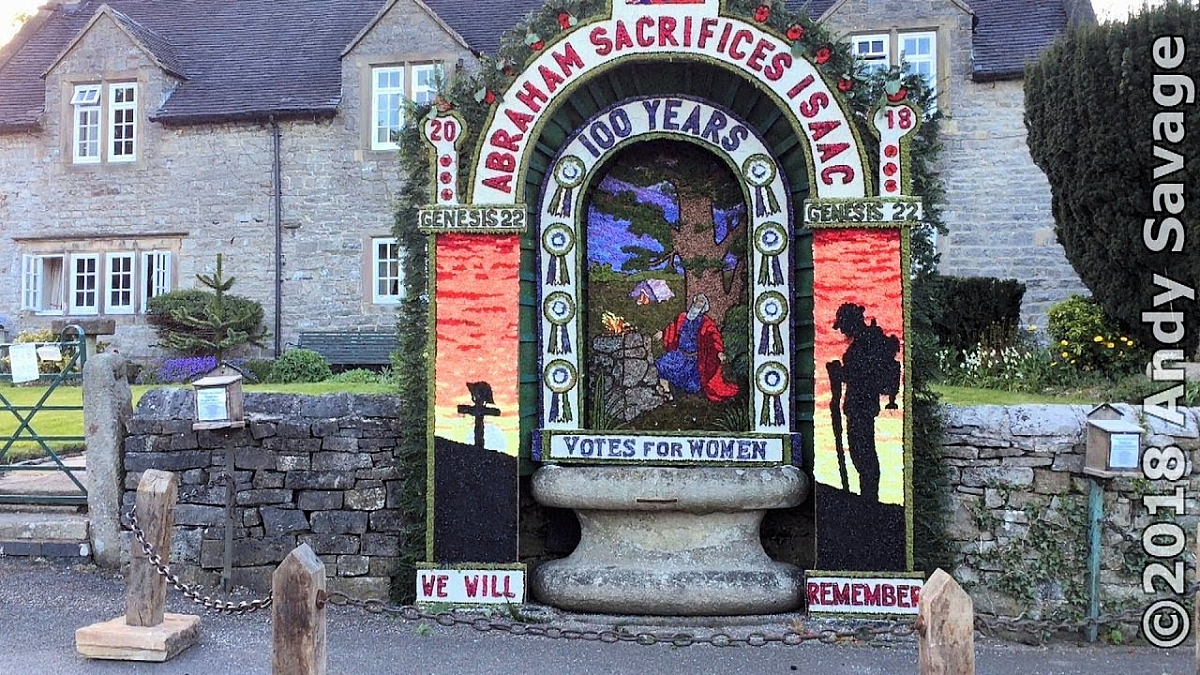 Stafford and Warwick Group - Tissington Well Dressing