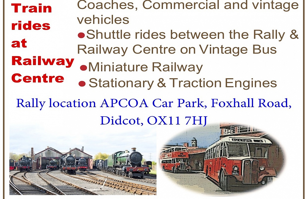 RIDGEWAY GROUP - DIDCOT RAILWAY CENTRE TRANSPORT RALLY