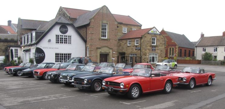 Today's Drive It Day outing. to Robin Hood's Bay