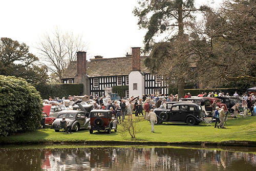 Red Rose Group - Gawsworth Hall Classic Car Show 2019