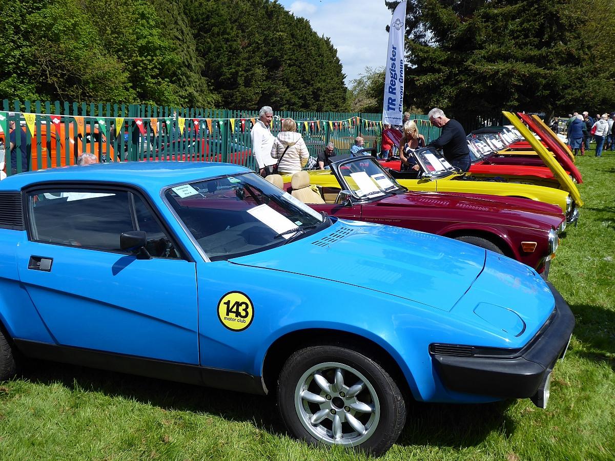 Wheelnuts Classic Car Show - 5th May 2019
