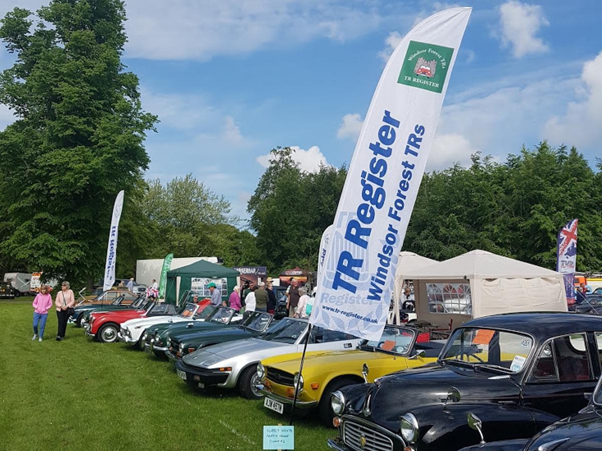 Windsor Forest - Thornycroft Festival of Transport at Basingstoke