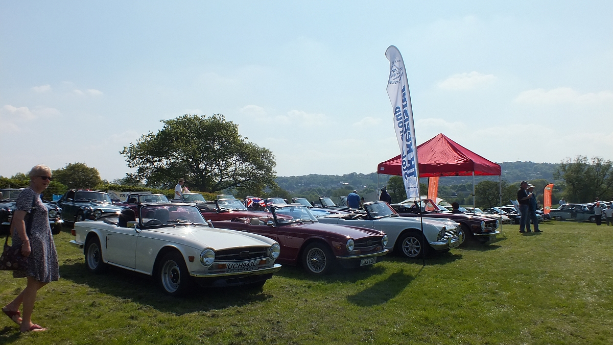 Stoke TR Group at Auto Extravaganza, Norton Green, Stoke on Trent