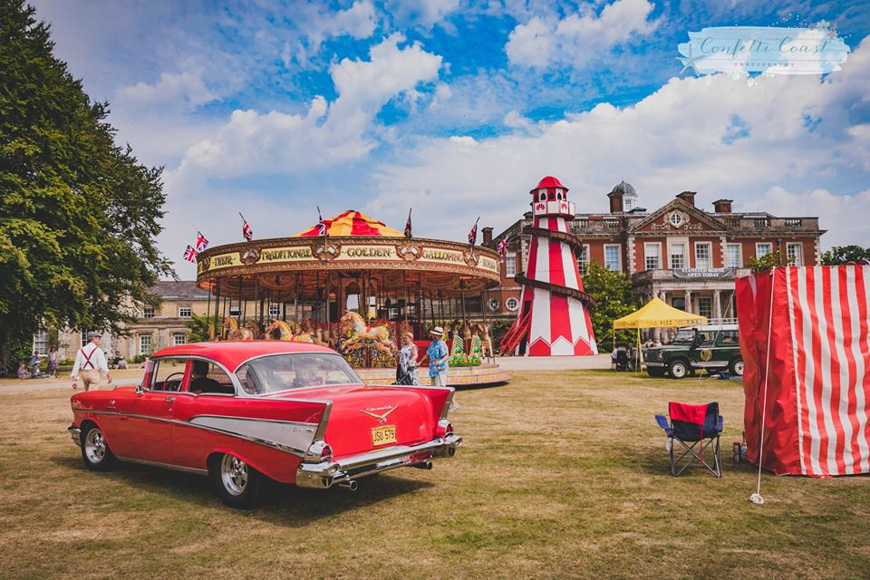 Kennet Valley TR Group invited to The Nostalgia Show