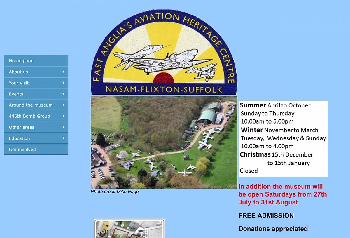 Wensum Group - The Flixton Aviation Museum Mid Week Drive & Meet Up