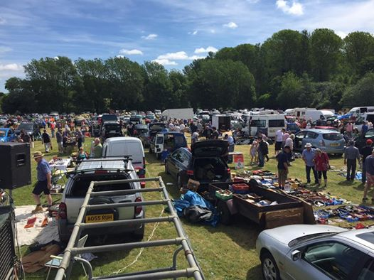 TR Wensum Event  - Thurton Auto Jumble and Classic Car - Drive In TRs On Show