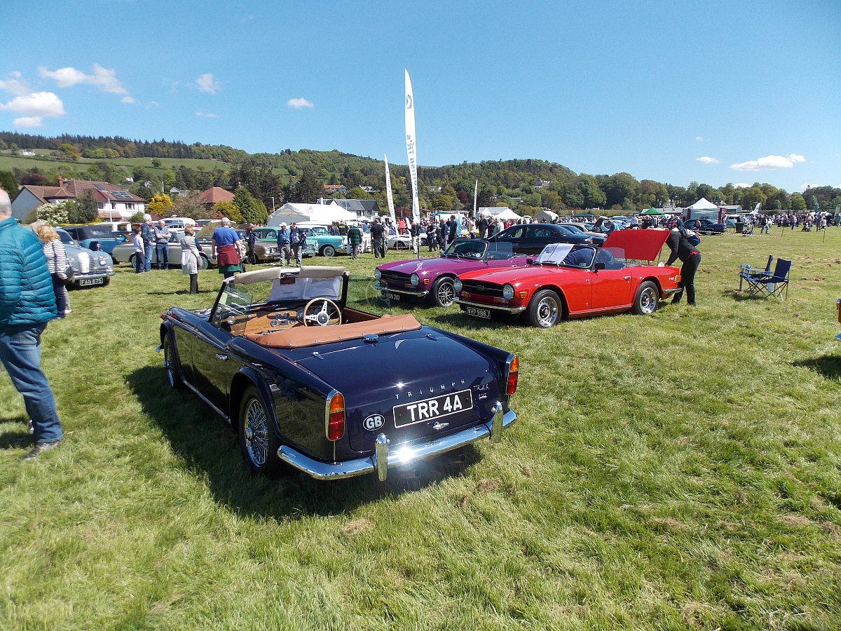 Stirling Classic Car Show