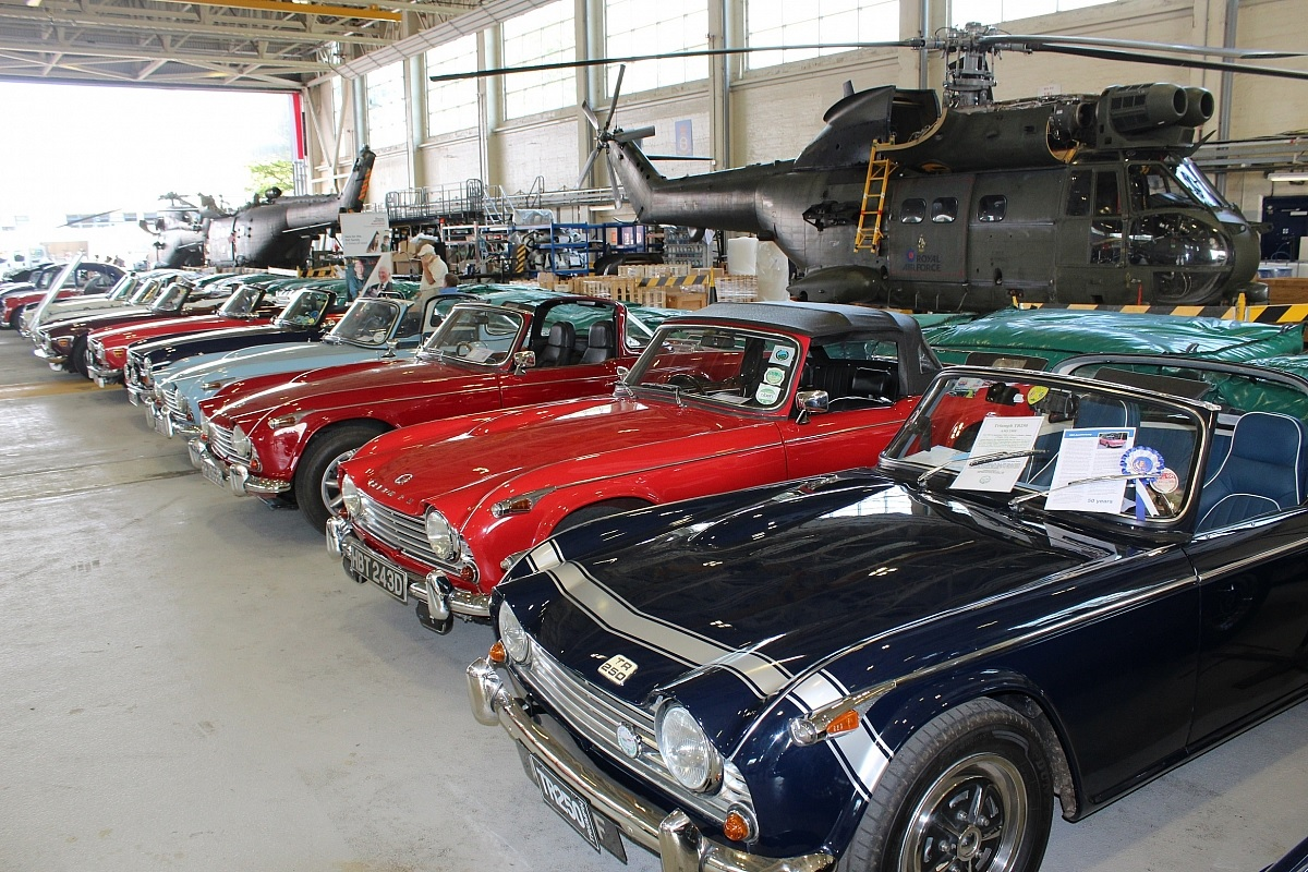 Kennet Valley TR Group invited to RAF Benson Family Day Classic