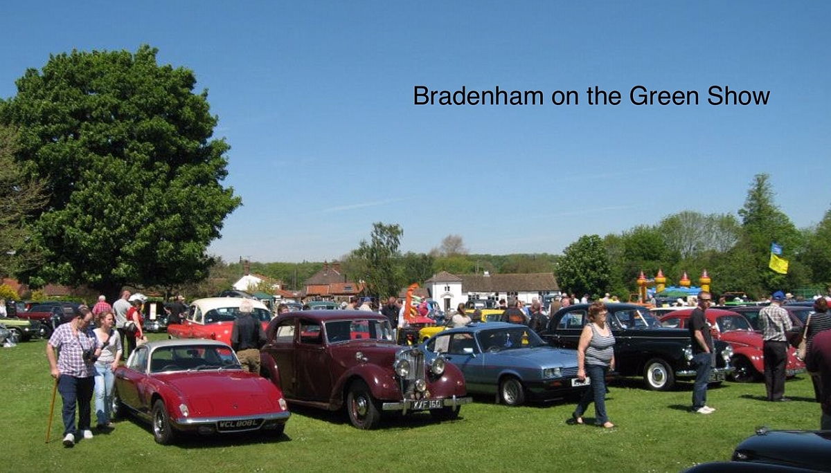 Wensum Group - Bradenham Classic Show - Drive in TR's on Show