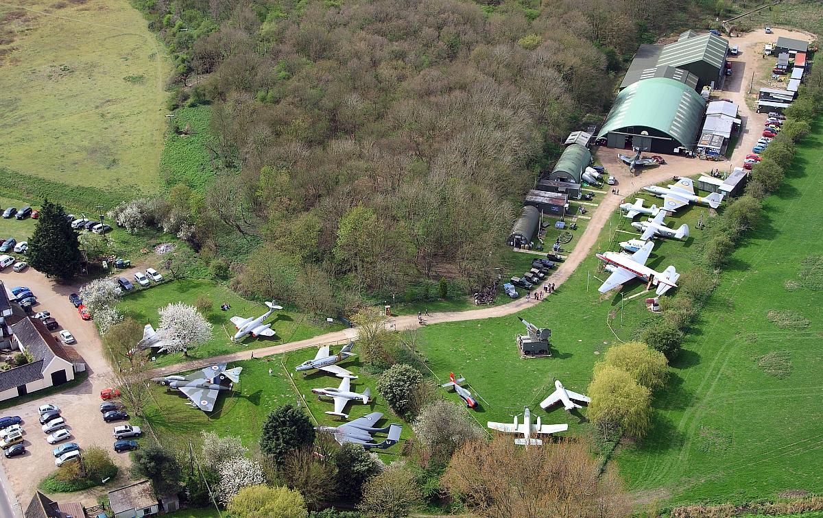 Abbott & Stour - Run out to Flixton Aviation Museum (Wensum Group invitation)