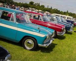 Abbott & Stour - Car Show at Stonham Barns