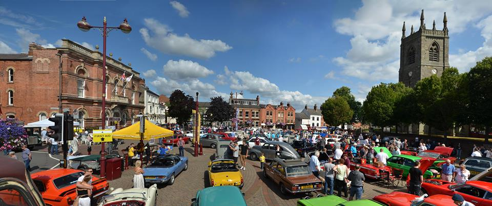 Trent Group at Ilkeston Heritage & Classic Vehicle Show