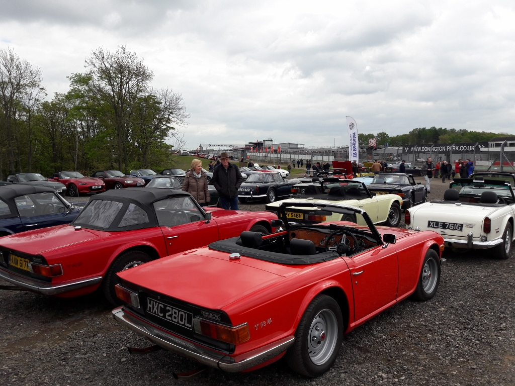 LTRG at Donington Historic Festival May 2019